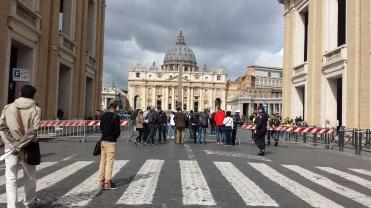 Vaticano - eu vi o papa!
