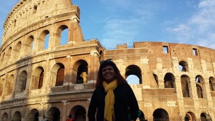 O imponente Coliseu