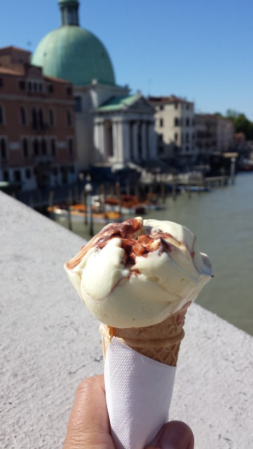 Gelatto em Veneza