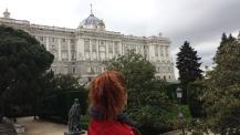Mais um lugar lindo em Madrid - Palácio Real