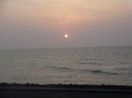 Para fechar meu dia, um lindo pôr do sol!